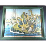 GREECE LITHOGRAPHY*HANGING OF PATRIARCH GREGORY V*1821 CONSTANTINOPLE,ITALY-moneyworld-store