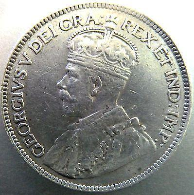 CYPRUS 1913 9 PIASTRES SILVER COIN, XF,KING GEORGE V-moneyworld-store