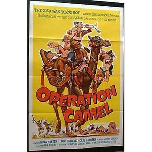 USA 1961 MOVIE POSTER OPERATION CAMEL,1SH,ORIGINAL,FOLDED,APPROVED-moneyworld-store