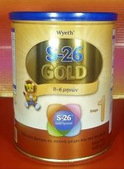 S26 Gold 1 for infants up to 6 months (1 Tin x 400g)-moneyworld-store