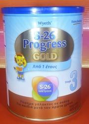 S26 Progress Gold 3 from 1-3 years old (1 Tin x 400g)-moneyworld-store