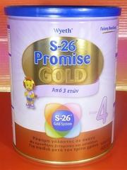 S26 Promise Gold 4 from 3 years old (1 Tin x 400g)-moneyworld-store