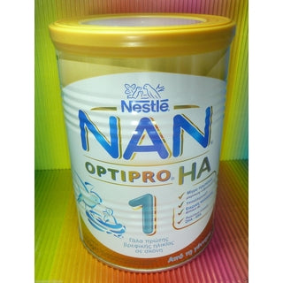 NESTLE NAN 1 OPTIPRO HA MILK INFANT FROM BIRTH TIN 400g-moneyworld-store