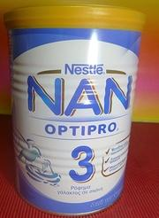 Nestle Nan 3 From one year old (1 Tin x 400g)-moneyworld-store