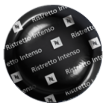 Nespresso Professional Ristretto Intenso 50 pods-moneyworld-store