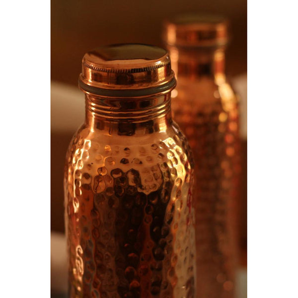 The Funding Bottle - Health - Carry Your Bottle, Copper Water Bottle - Stainless Steel Bottles, Copper Water Bottle - Copper Bottles