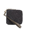 Black Katran Wallet with Zip
