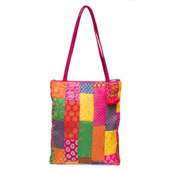 Brocade Patchwork Party Bag