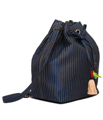 Indigo Hampi Bucket bag