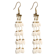 Teen Ladi Mogra Earrings
