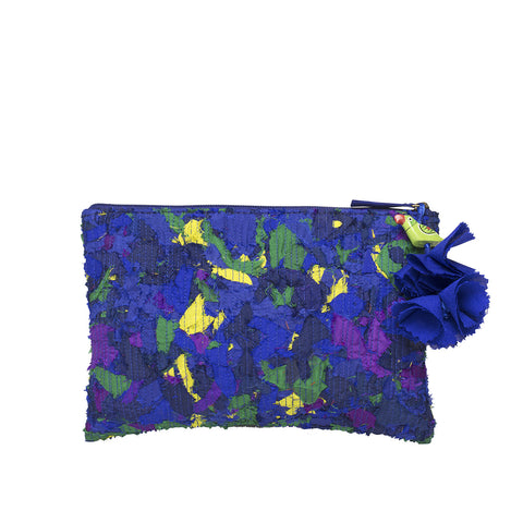 Small pouch katran blue