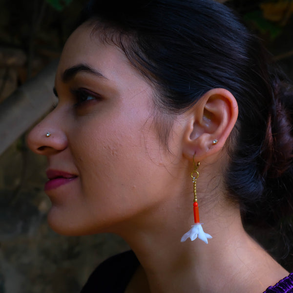 Harsingar Ek Ladi Earrings
