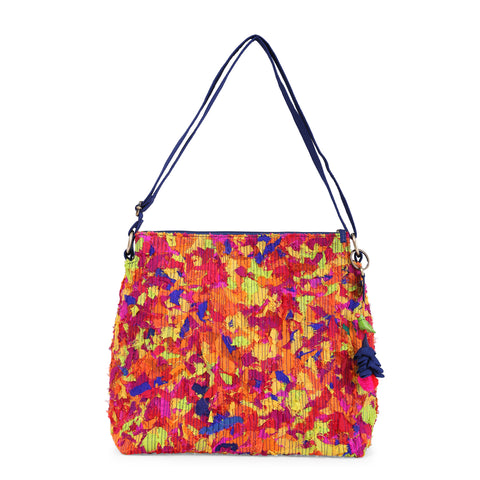 Multicoloured Upcycled Katran Suvi Sling Bag
