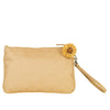 Gold Brocade Silk Wristlet