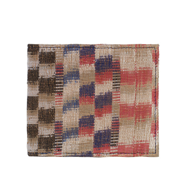 Ikat Men's wallet - Checks