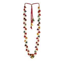 Multi Brocade Mogra Pipe Mala