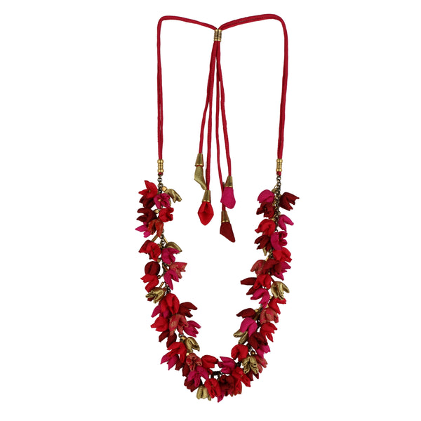 Shades of Red Chain Mala