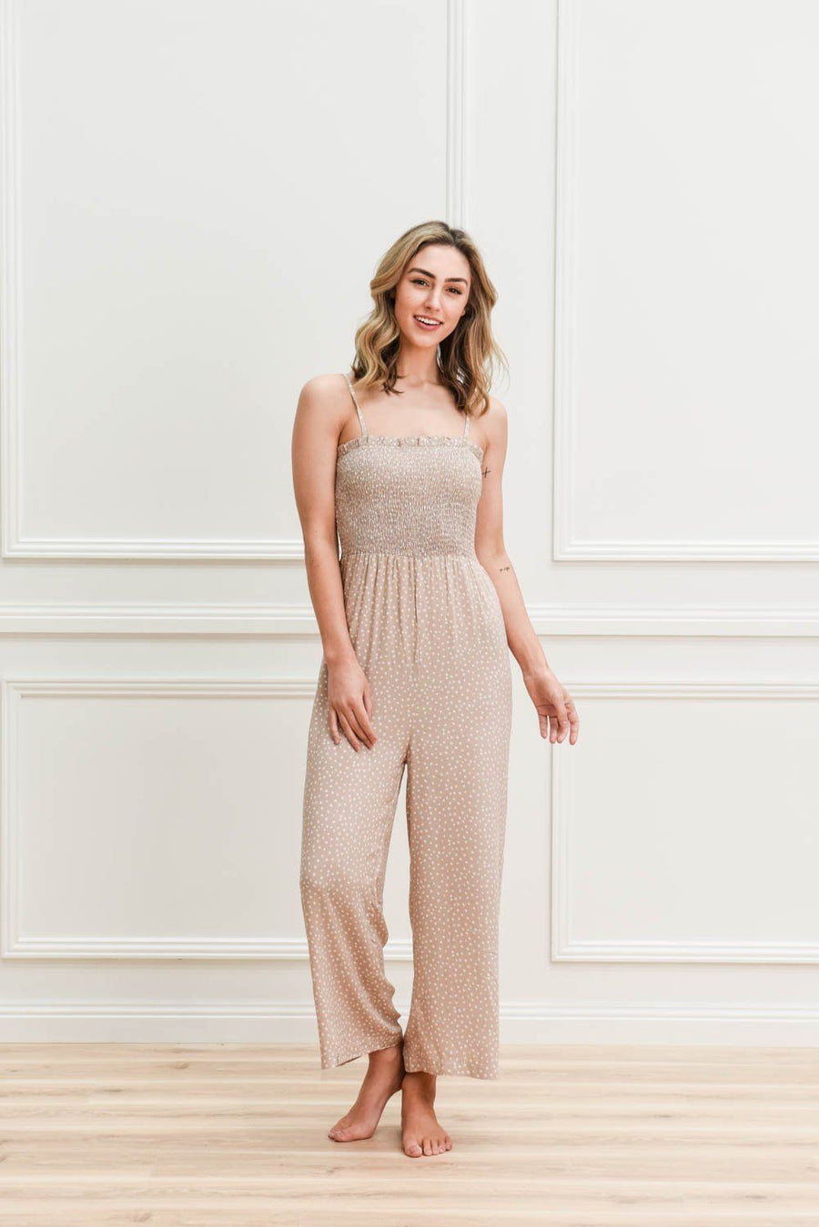 Belle Jumpsuit Jumpsuit Gray.Label