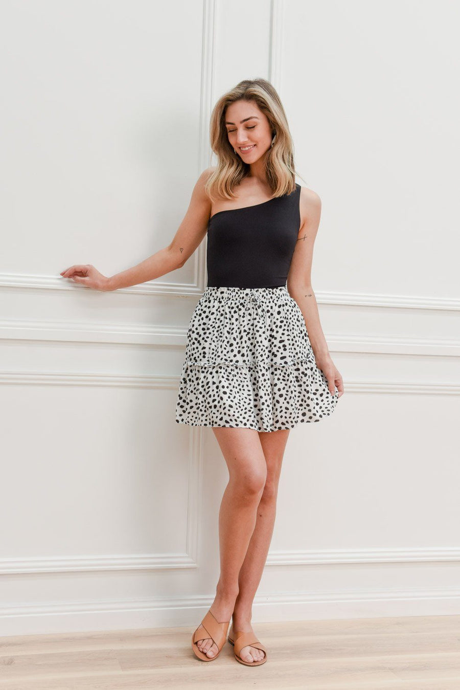 Beth Skirt Skirt Gray Label