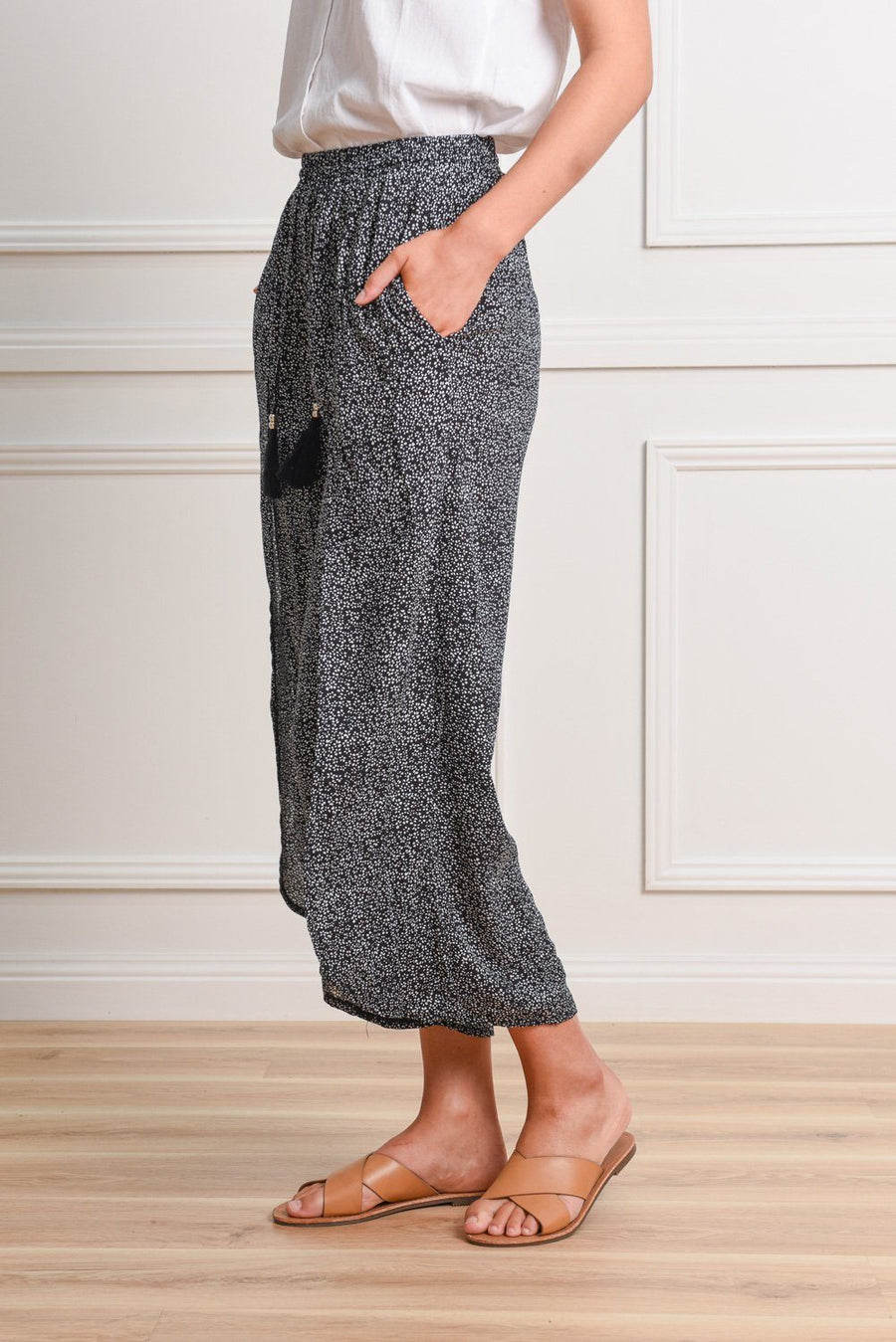 Cindy Culottes Pants Gray Label