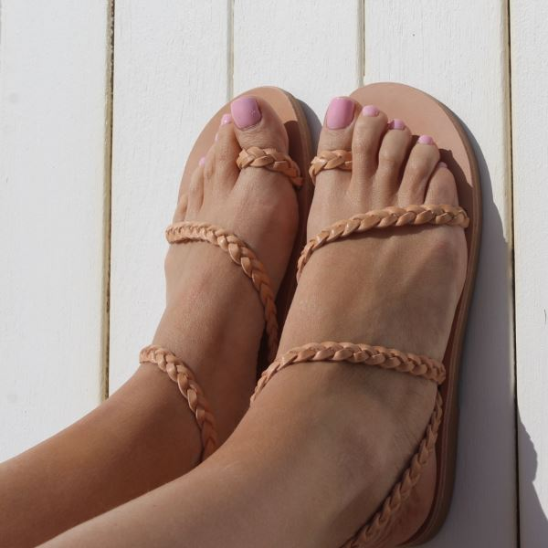 Clio Sandals | Tan Sandals Gray Label