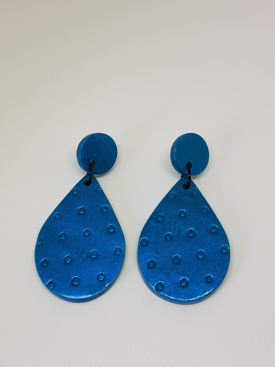 Dangles | Amori Teardrops Earrings Linart Designs Peacock