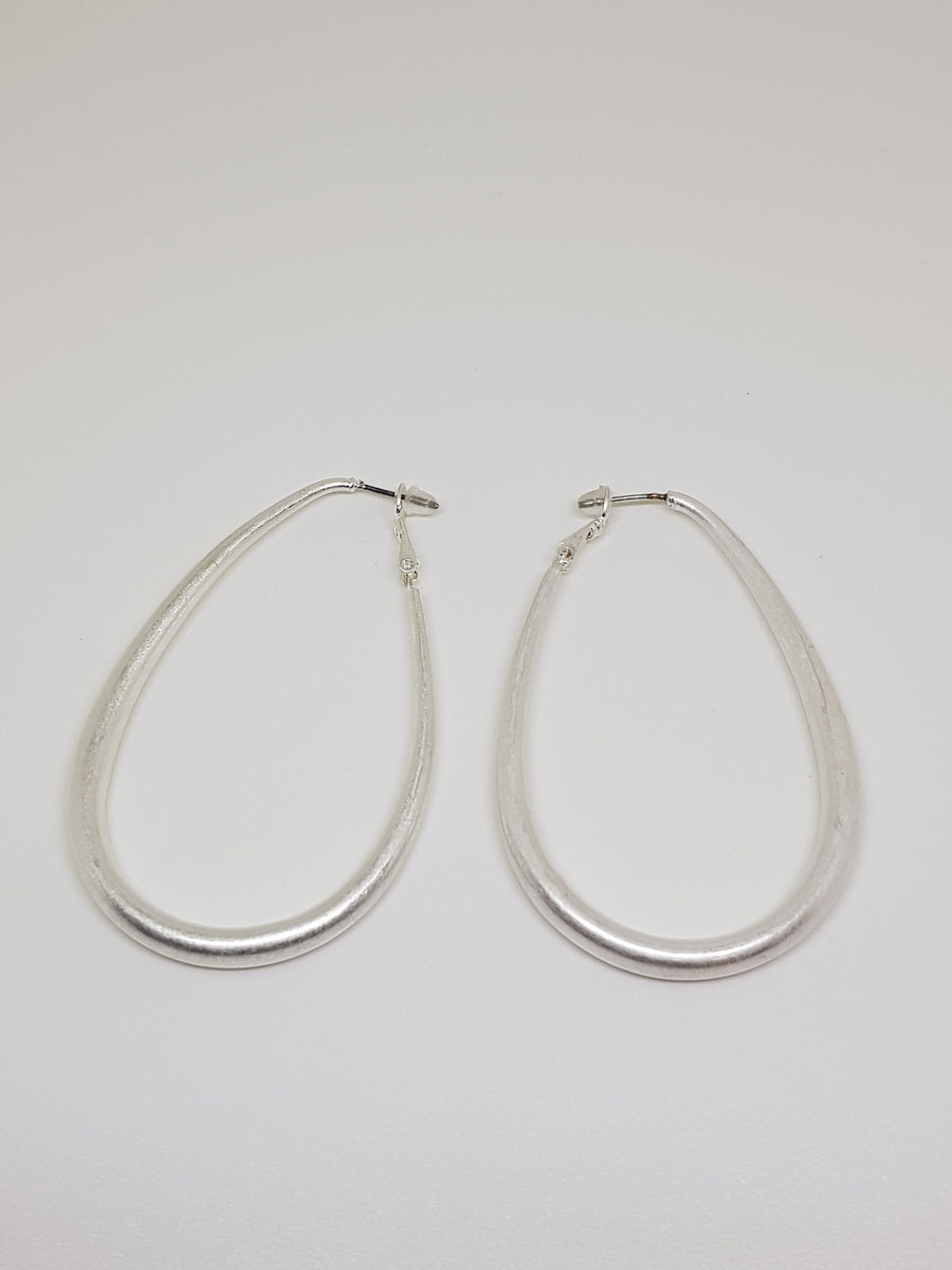 Dangles | Cooper Statement Dangles - Silver Earrings Linart Designs