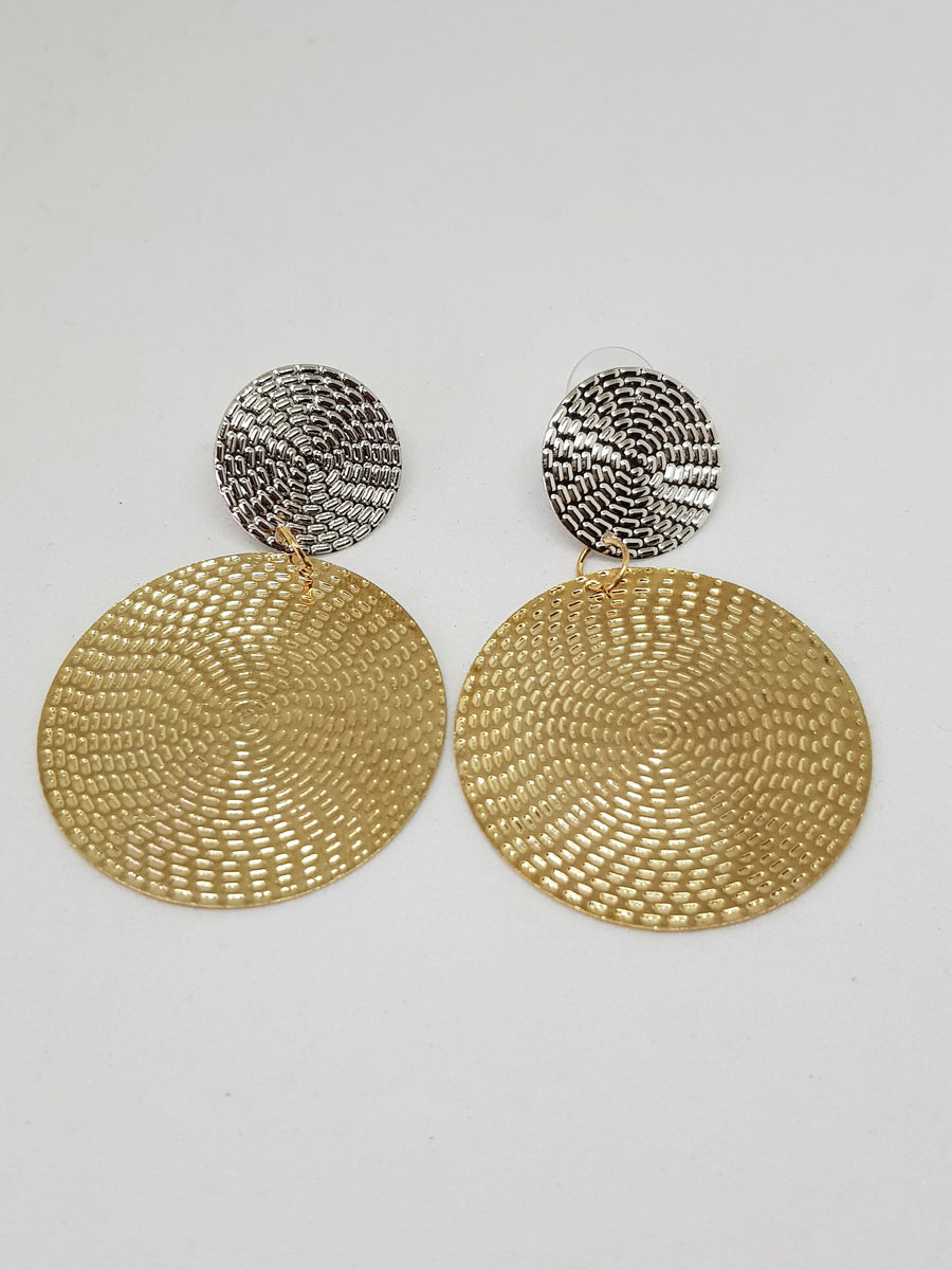 Dangles | Jennifer Metallics Earrings Gray.Label