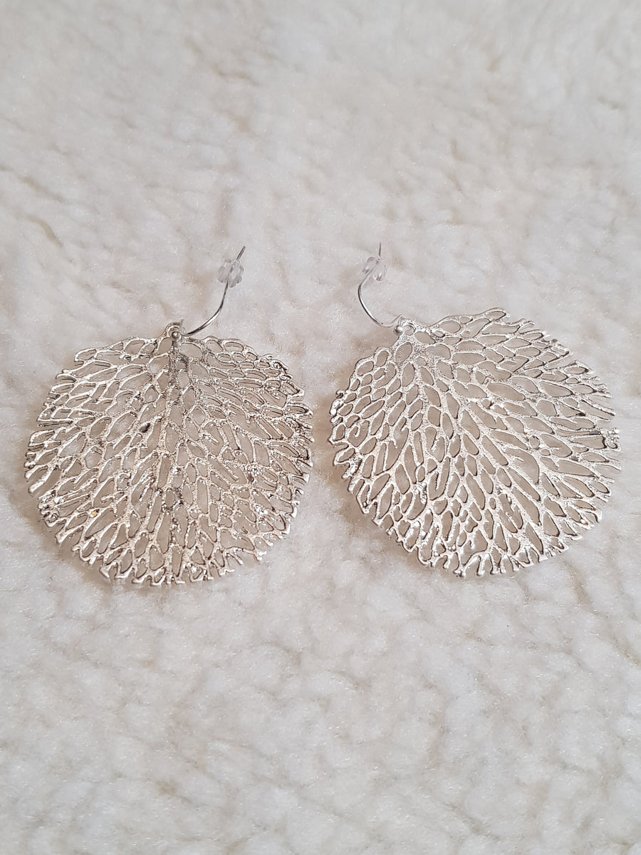 Dangles | Tree Of Life - Silver Earrings Linart Designs