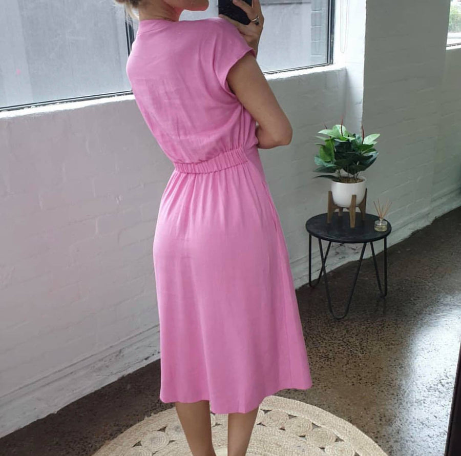 Duchess Dress | Pink Dress Gray Label