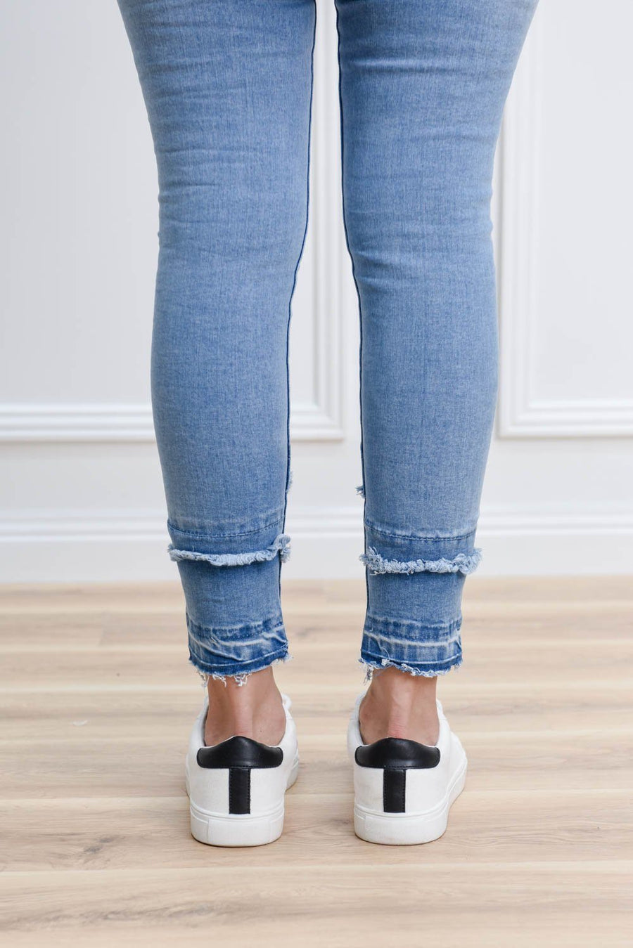 Gina High Waist Jean Jeans Gray Label