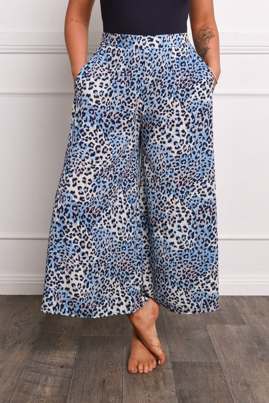 Gray x With Soph Noosa Culottes Tee Gray X With Soph