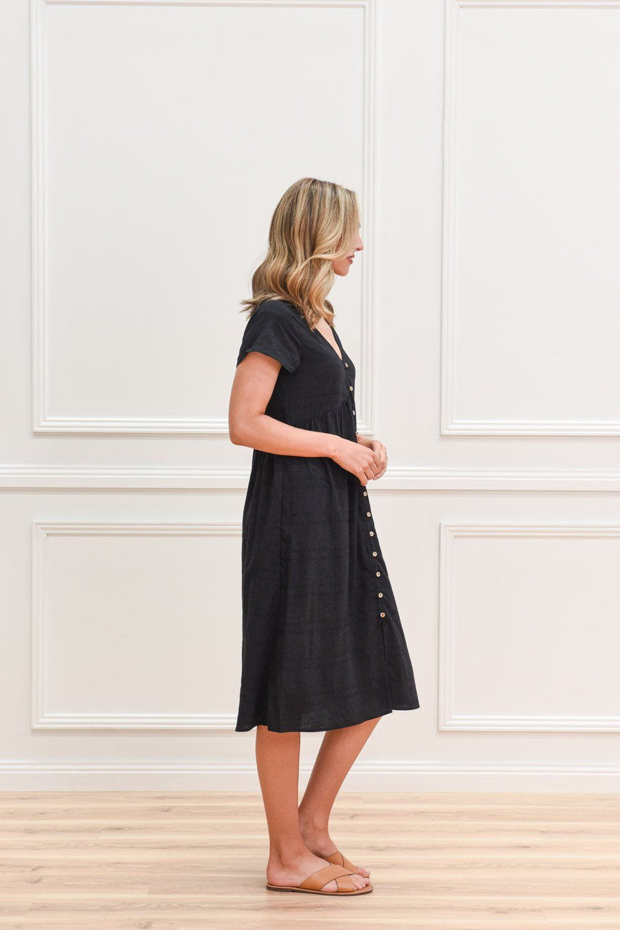 Isabella Dress | Black Dress Gray Label