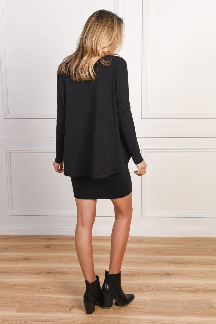 Jade Black Knit Dress - Gray Label Dress Gray Label