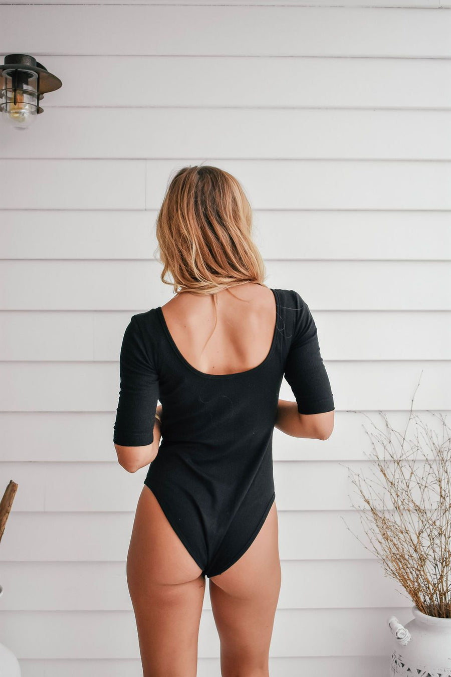 Julia Bodysuit | Black - Gray Label Bodysuit Gray Label