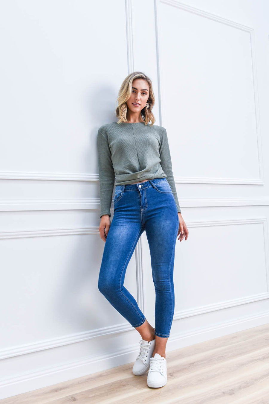 Kylie Denim Jeans Jeans Gray Label