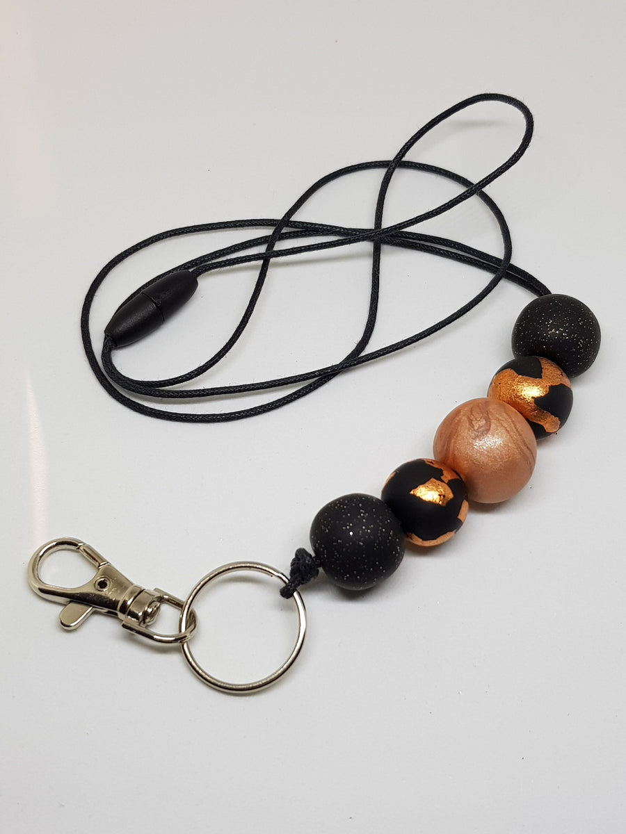 Lanyard | Copper Sparkles Necklace Linart Designs