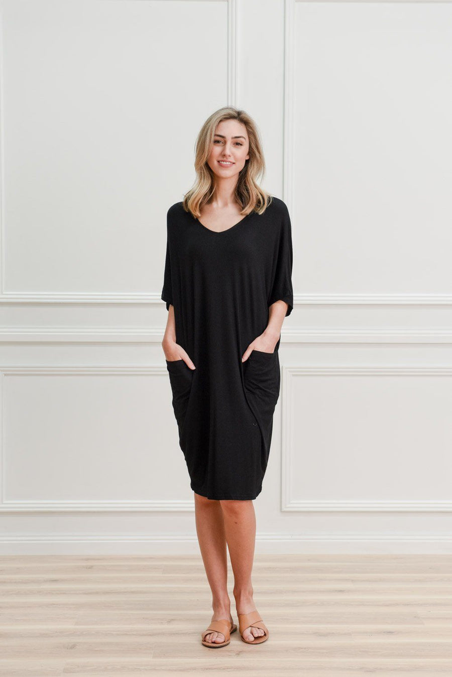 Leah Dress | Black Dress Gray Label