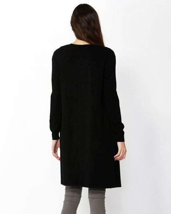 Leah Knit Cardi | Black Cardigan Gray Label