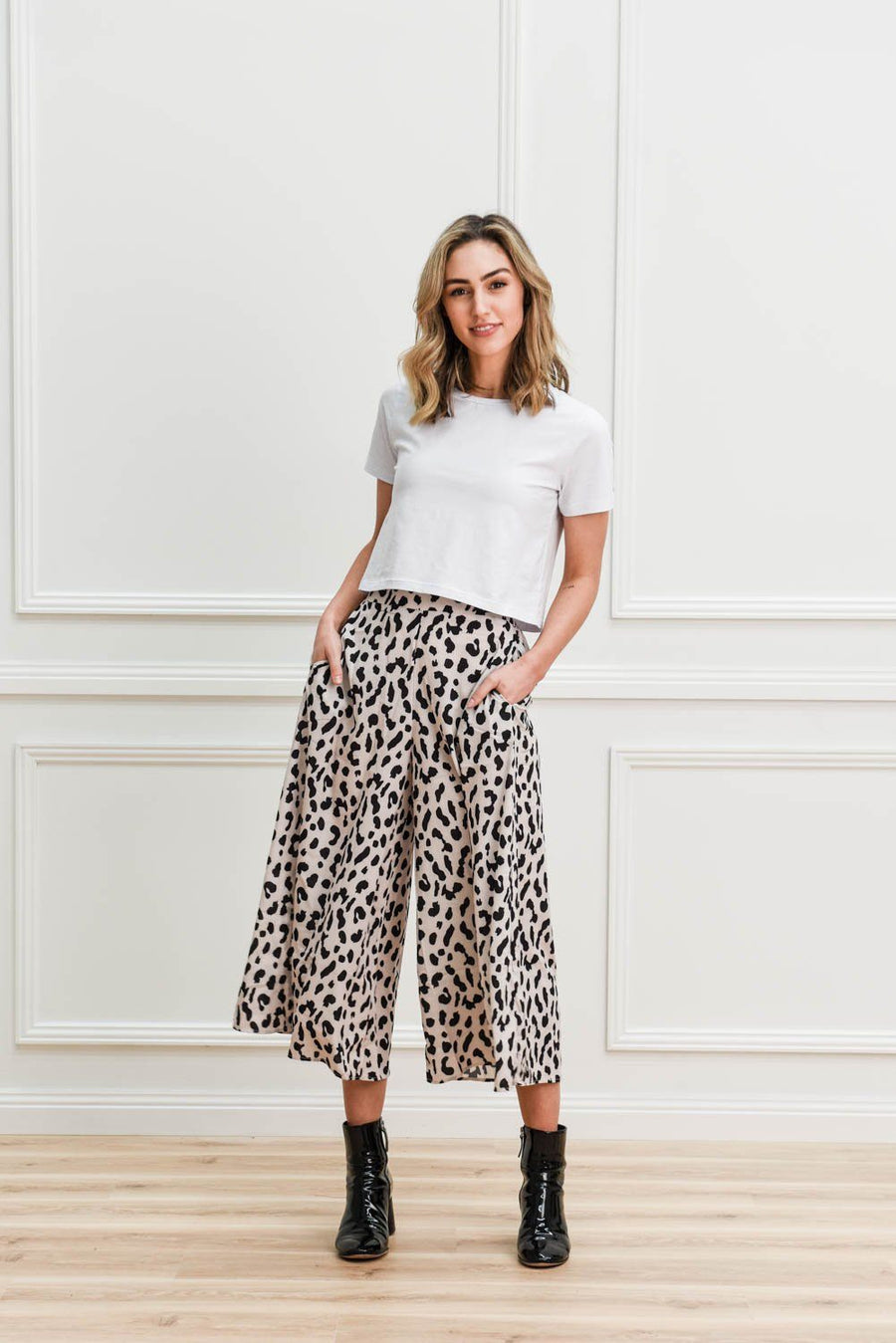 Lucy Culottes Pants Gray Label