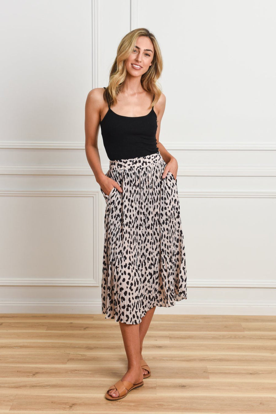 Lucy Maxi Skirt Pants Gray Label