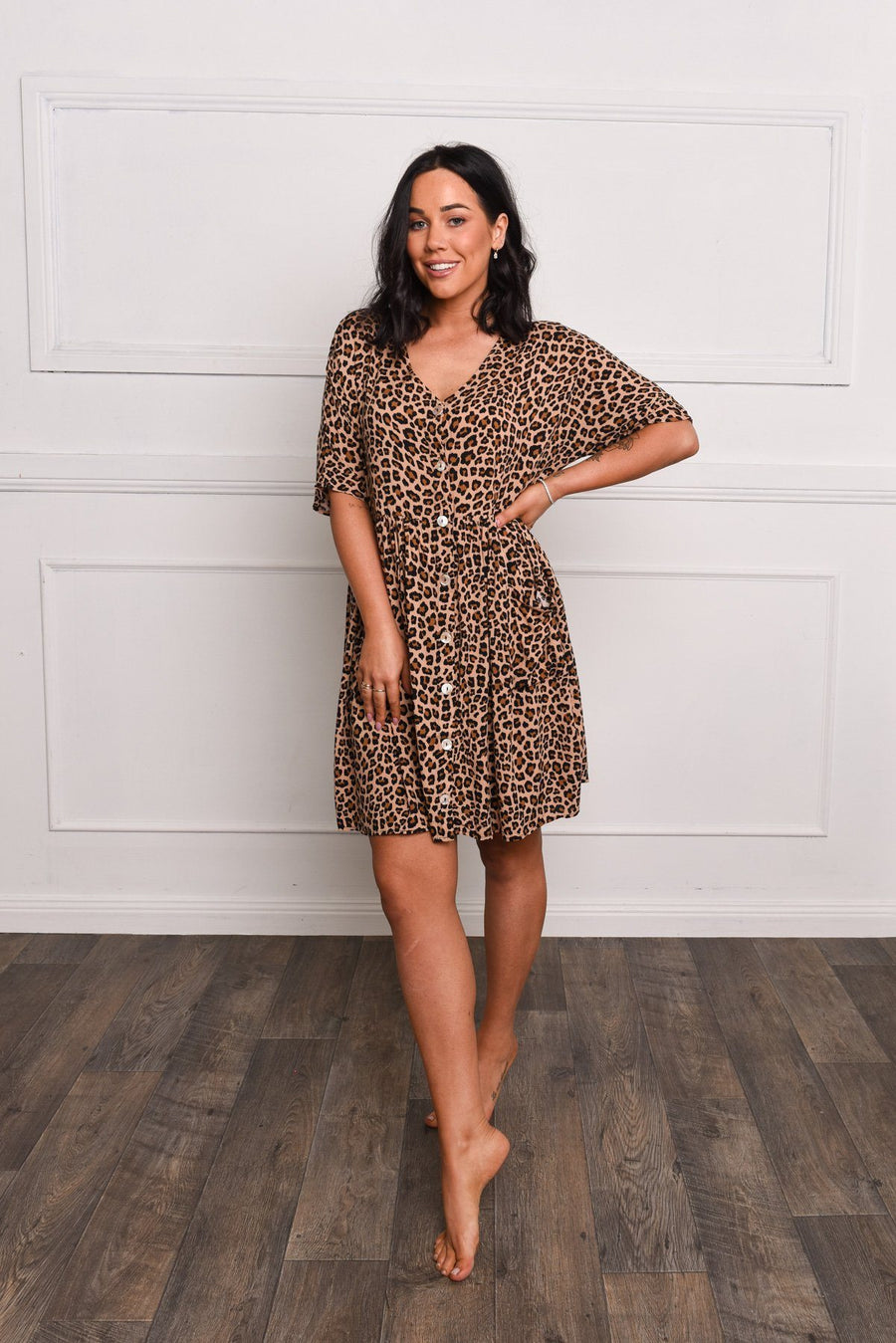 Lucy Tunic | Leopard - Gray Label Dress Gray.Label