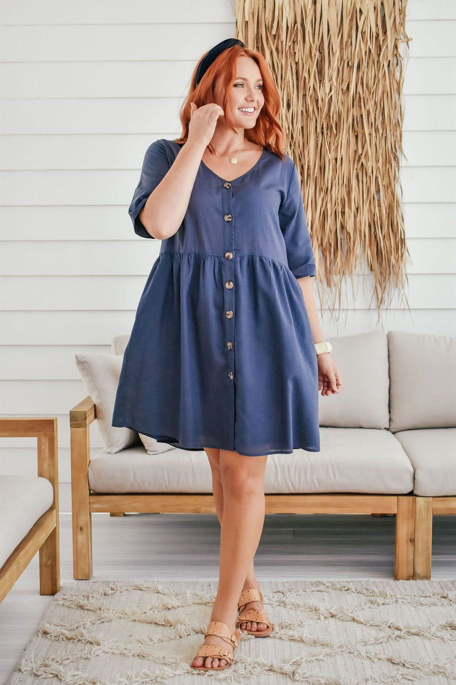 Lucy Tunic | Navy - Gray Label Dress Gray.Label