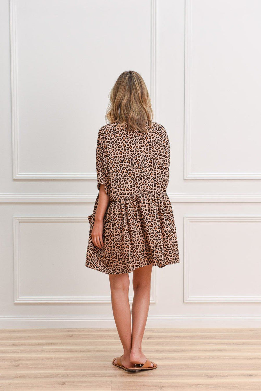 Marlo Tunic | Leopard Dress Gray.Label
