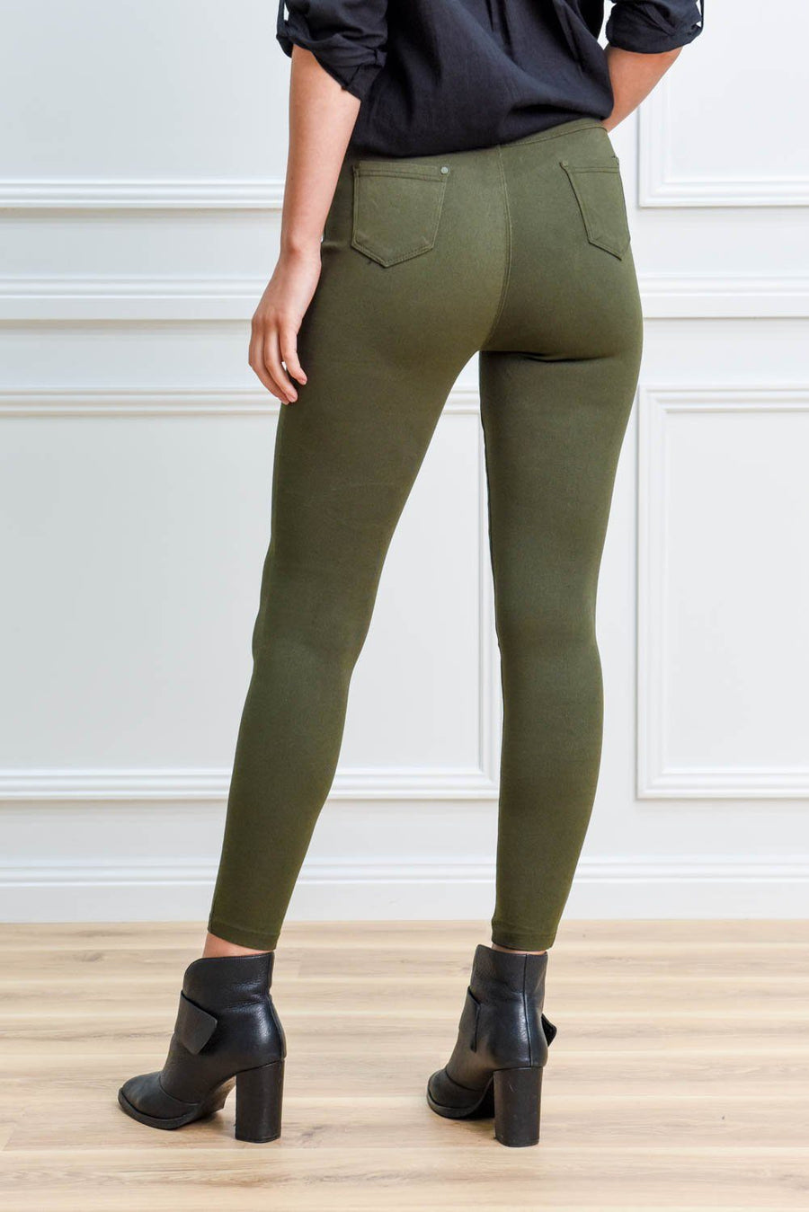 Mia Jegging - Khaki Jegging Gray.Label
