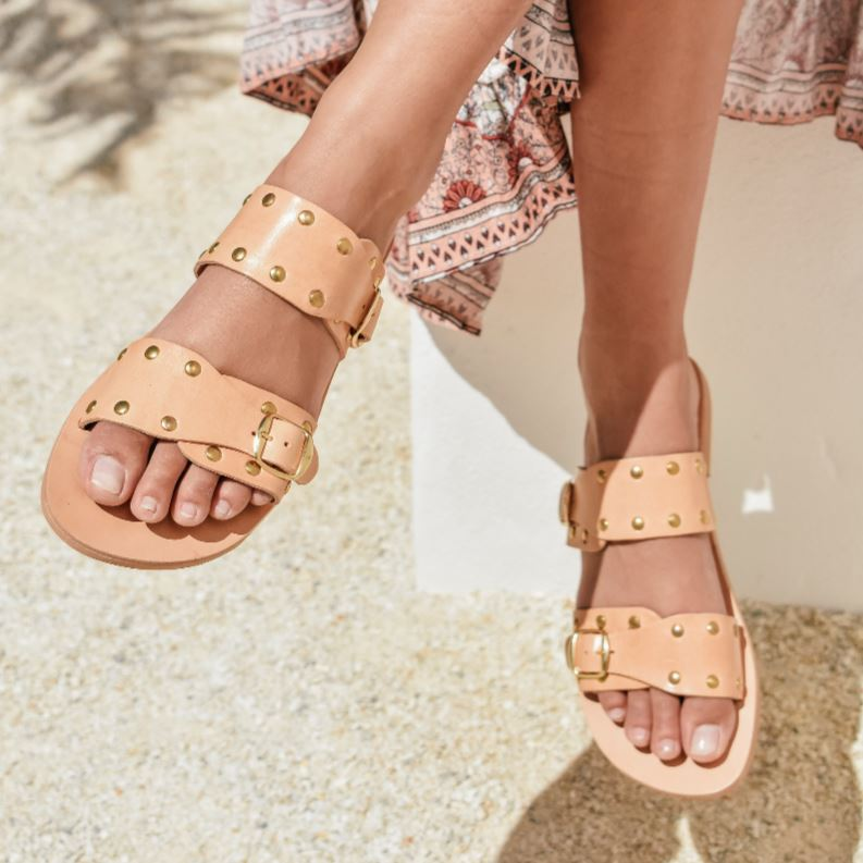 Niki Sandals Shoes Gray Label