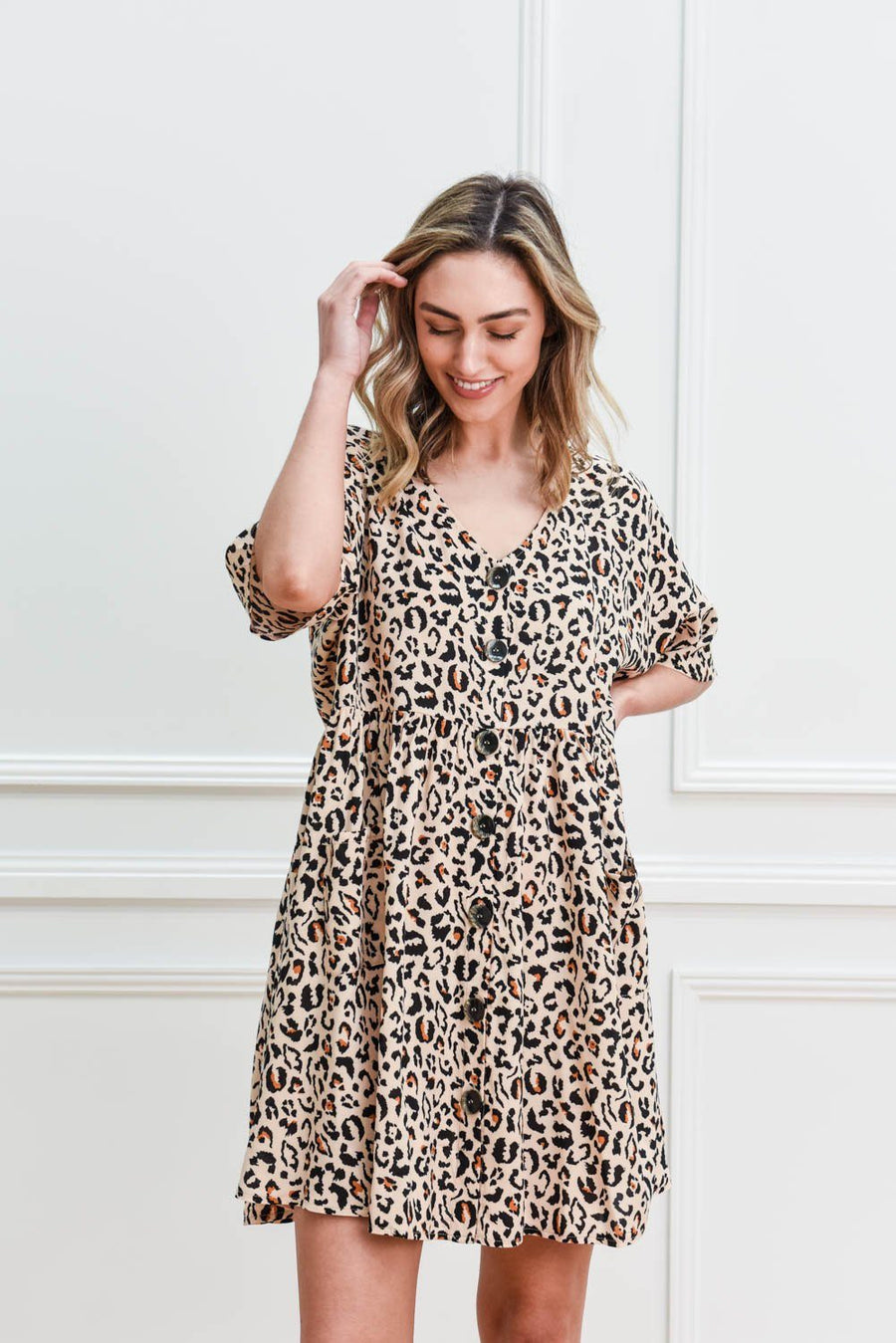 Nixon Tunic | Leopard Dress Gray Label