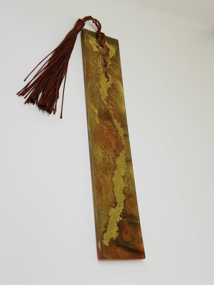 River Of Gold Bookmark Bookmark Linart Designs