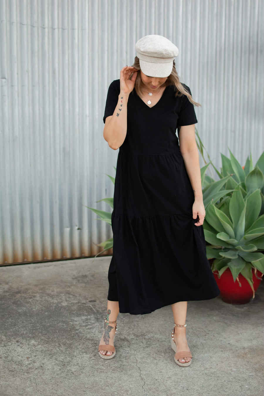 Stacey Dress | Black Dress Gray Label