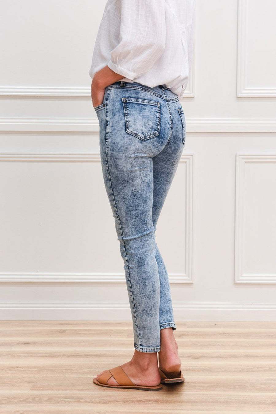 Stella Jeans | Acid Wash Jeans Gray Label